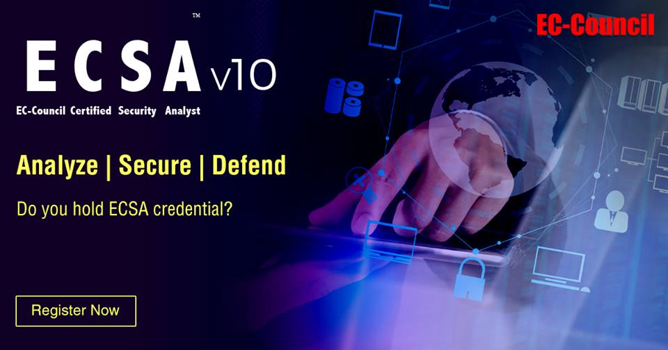 cb53d66e1002b ... with the class providing complete coverage of analysis and network  security-testing topics. Certified Security Analyst ECSA Training in Lahore  Pakistan